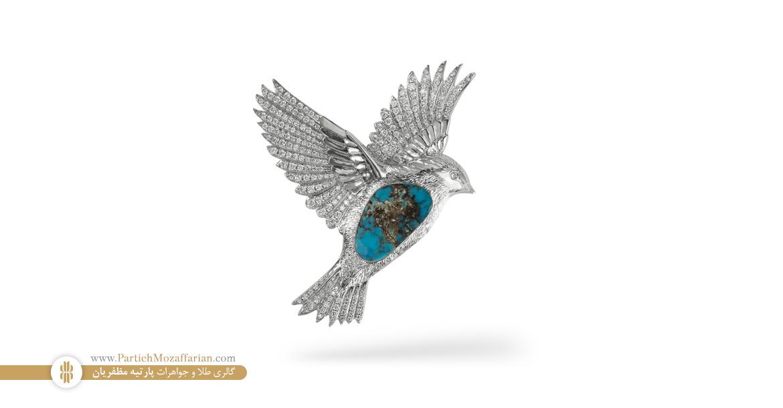 پرنده طلا و جواهر