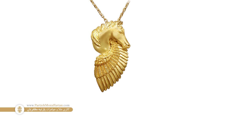 اسب طلا دست ساز